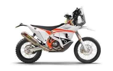 Nuova KTM 450 Rally Replica 2021