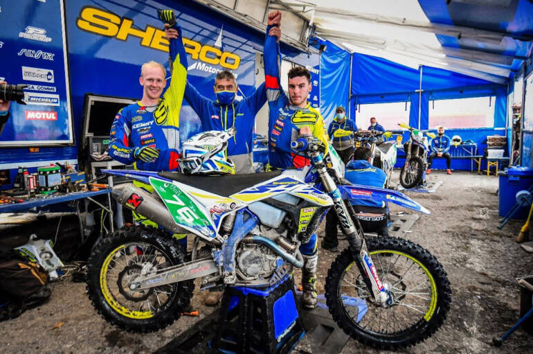 Quarto posto finale per Matteo Cavallo (Sherco CH Racing Team) in Portogallo