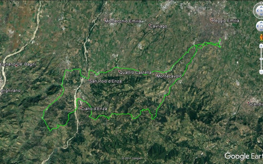 Endurata Elettrica a Canossa, Ciano d'Enza, Bazzano