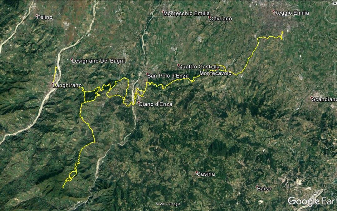 Endurata Elettrica a Neviano degli Arduini, Monte Fuso e Langhirano