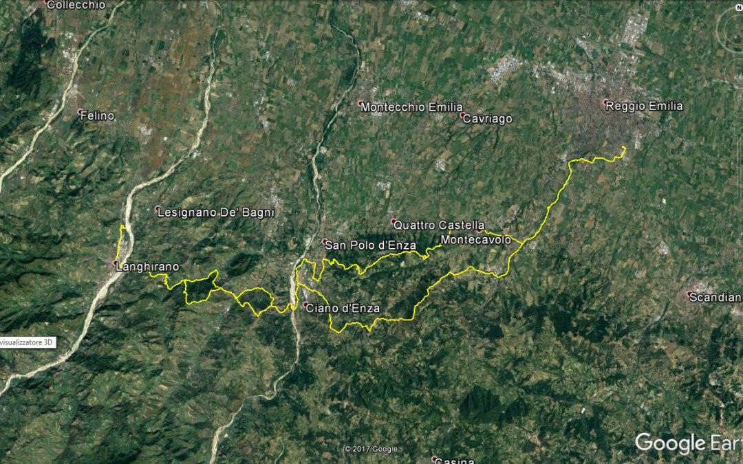 Endurata Elettrica a Rossena, Langhirano e San Polo d'Enza