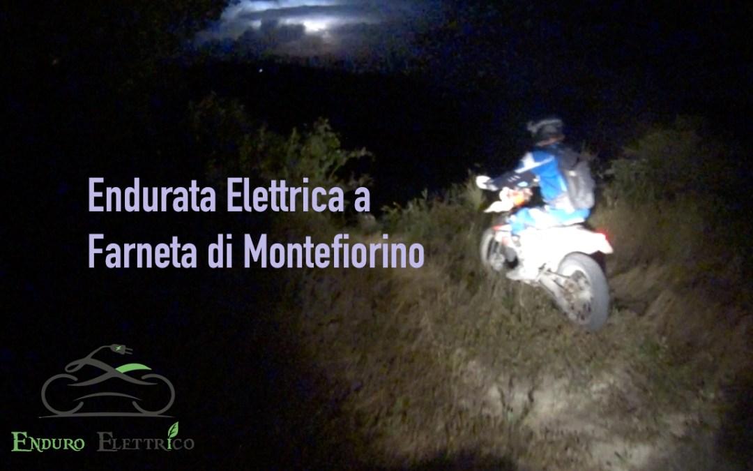 Video in Enduro Elettrico a Farneta di Montefiorino MO del 7/20