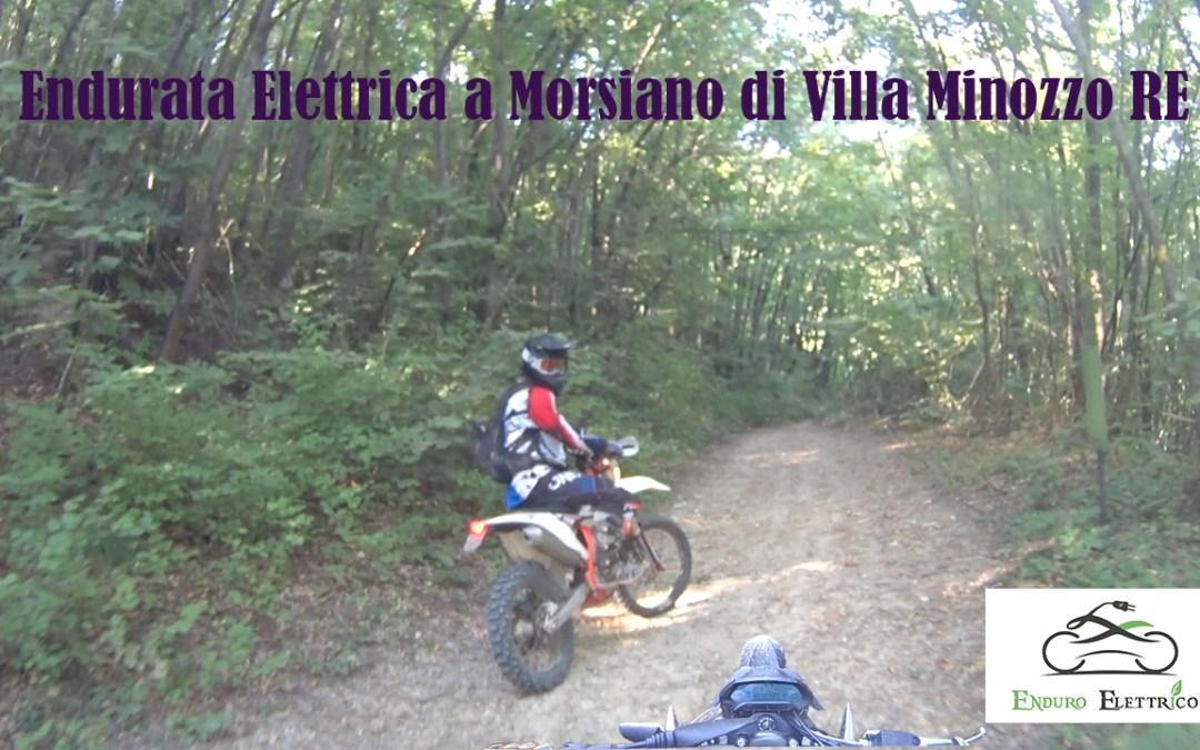 Video in Enduro Elettrico a Morsiano di Villa Minozzo RE del 8/20