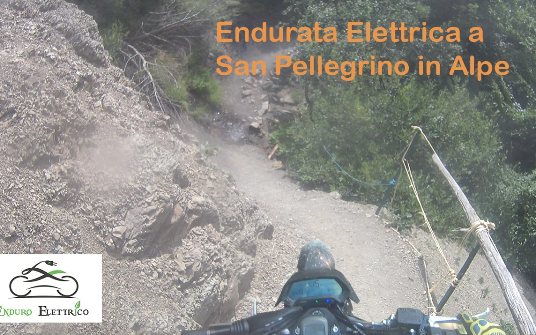 Video in Enduro Elettrico a San Pellegrino in Alpe del 8/19