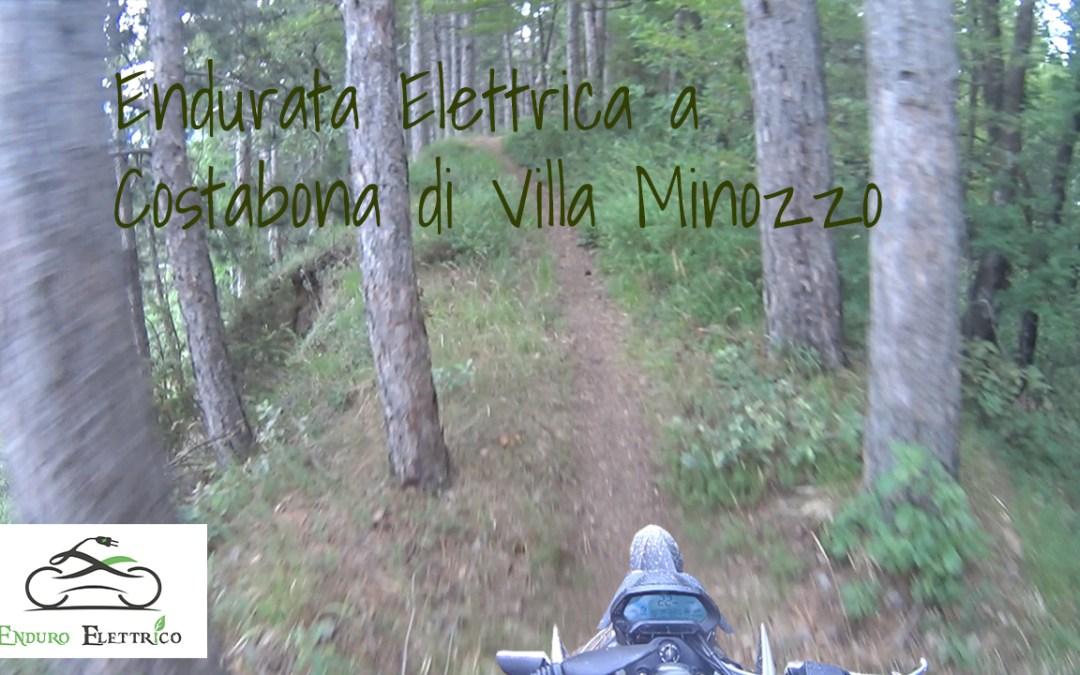 Video in Enduro Elettrico a Costabona di Villa Minozzo RE del 7/19