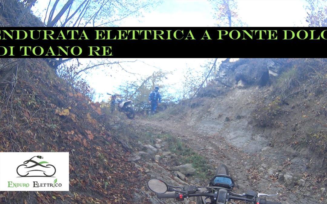 Video in Enduro Elettrico a Ponte Dolo di Toano RE del 10/20