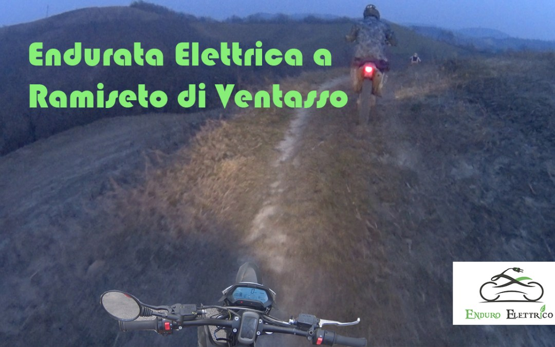 Video in Enduro Elettrico a Ramiseto RE del 2/2019