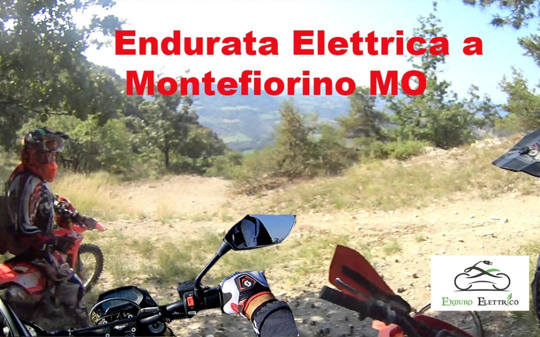 Giro in Enduro Elettrico a Montefiorino MO del 8/2018