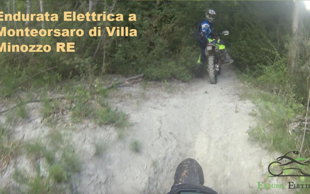 Video in Enduro Elettrico a Monteorsaro di Villa Minozzo RE del 7/21