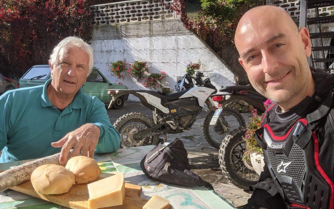 Tour guidato in Enduro a San Cassiano di Baiso RE del 10/21