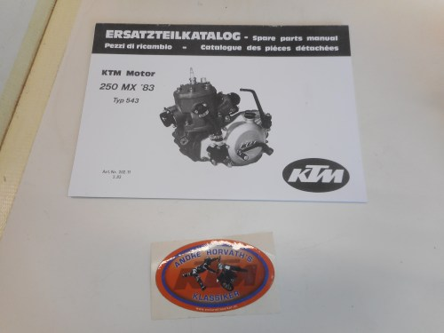small resolution of ktm spare parts manual engine 250 1983