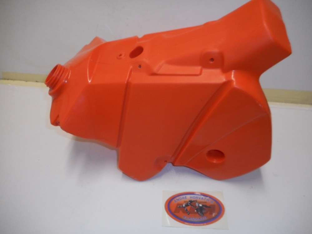 medium resolution of ktm sxs gas tank 7 5 liter 400 520 sx exc 2001 2002 orange