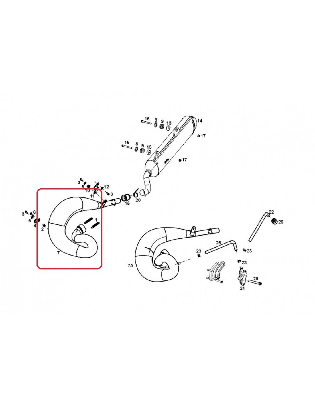 BUFANDA GAS GAS EC 200/250/300 14-17