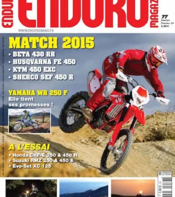 Au sommaire d'Enduro Mag 77