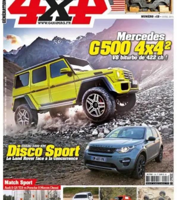 Génération 4×4 Magazine #13 est en kiosque