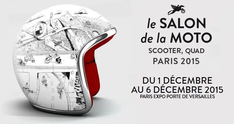Enduromag présent au salon de la moto de Paris