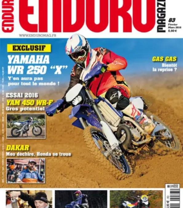 Enduro Magazine #83 en kiosque