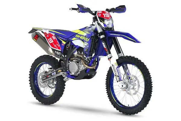 Une Sherco Matt Phillips Replica  !