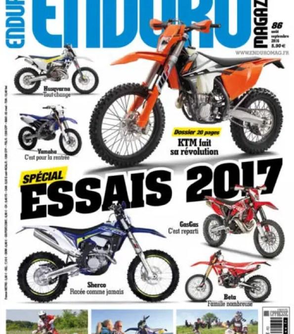 Enduro Magazine n86 : Du lourd pour l'été !
