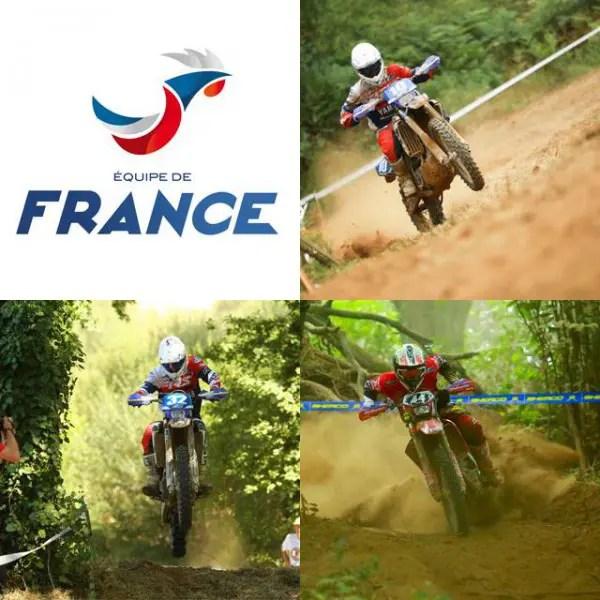 L'équipe de France Junior pour les ISDE 2016 dévoilée