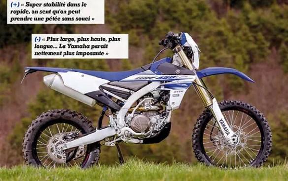 Yamaha 450 WRF