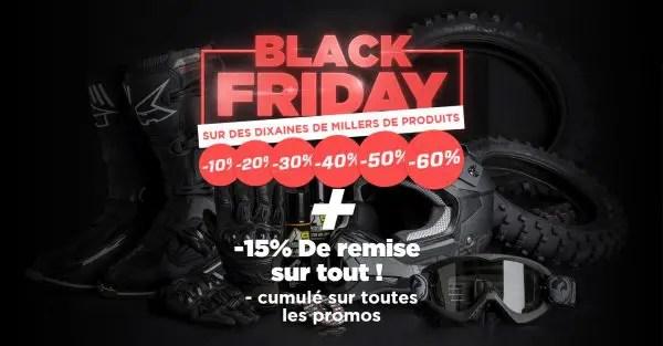 Le Black Friday chez 24MX, c'est parti !