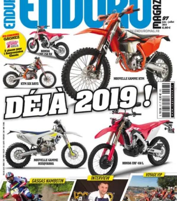 Enduro Magazine n°97, c'est déjà 2019 !
