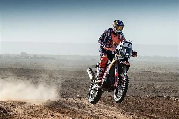 Rallye du Maroc, étape 4 : Toby Price reprend le commandement