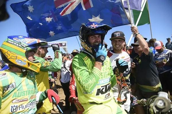 ISDE 2018 : le triomphe australien !