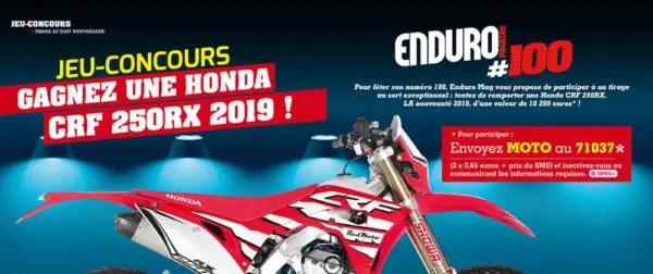 Plus que quatre jours pour participer au jeu-concours Enduro Mag !