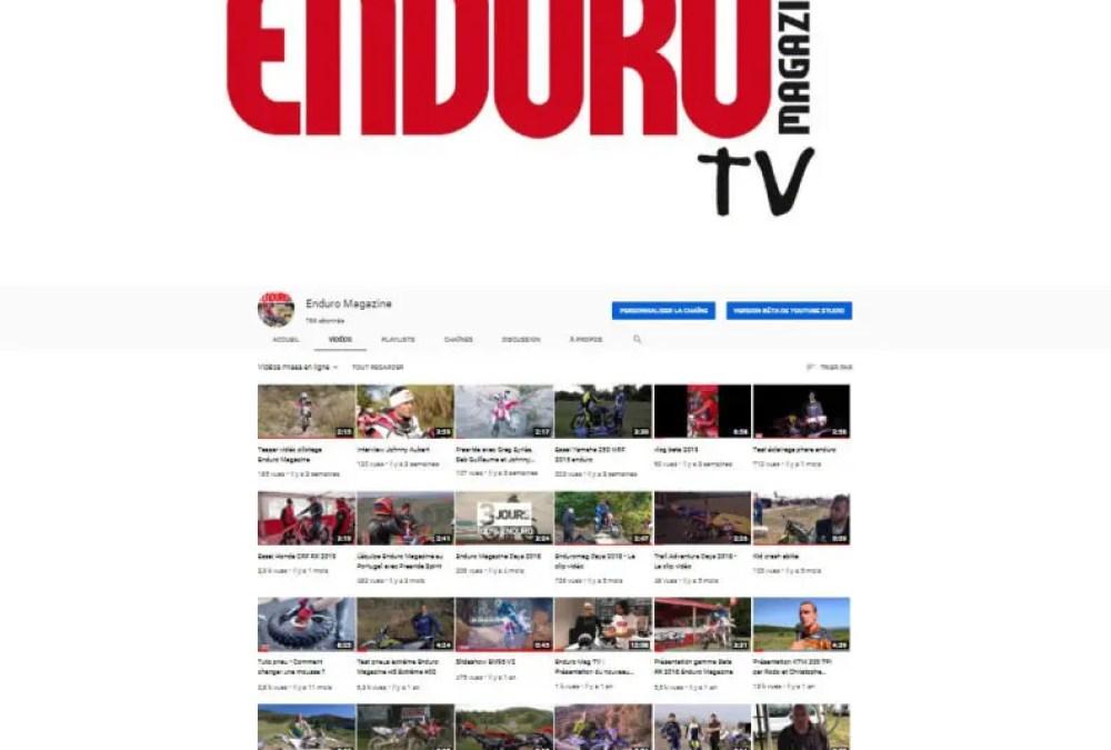 Enduro Magazine est aussi sur youtube !