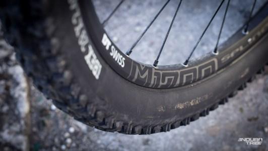 DT Swiss Spline M1700, déjà rencontrées plusieurs fois en 27,5 pouces cette saison... Et en 29 pouces, avec moins de succès, sur le BMC Trailfox 02.