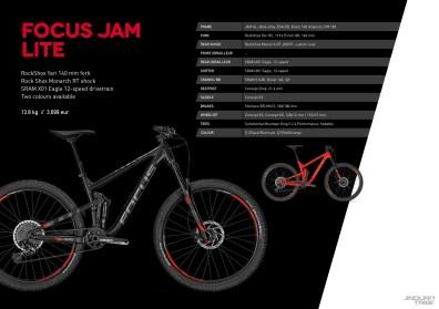 Jam Lite - 3699 euros - 13,8kg