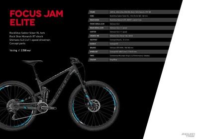 Jam Elite - 2599 euros - 13,6kg