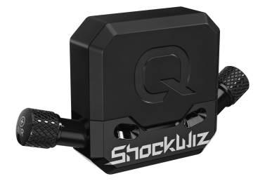 Sur le vélo, le Quarq Shockwiz est un petit boitier électroniquede 45g tout juste.