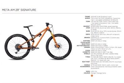 Commençal Meta AM 29 Signature - 4399€.