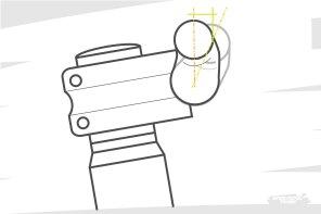 Entre la forme du cintre et l'angle avec lequel on le positionne dans la potence, on peut peaufiner de quelques millimètres le reach perçu.