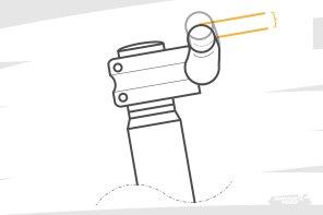 Un phénomène d'autant plus important que le rise du cintre est important. On peut effectivement, en jouer pour ajuster le stack perçu. 10mm, 15mm, 20mm, 25mm et plus permettent de trouver son idéal...