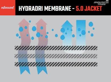 Conçue avec une membrane 3 couches imperméable et respirable 30mm/23g/m²...