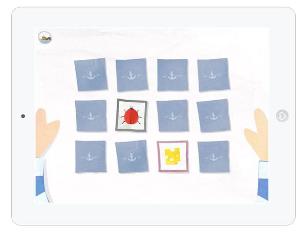 Süße Kinder App mit Mini Games