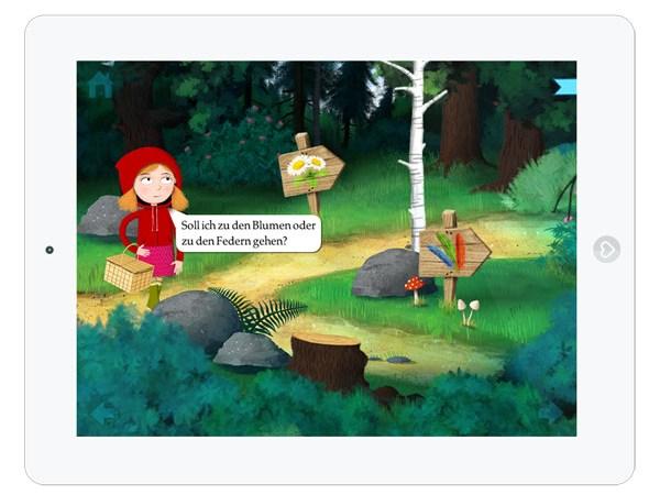 tolle Grimms Märchen App für Kinder im Test