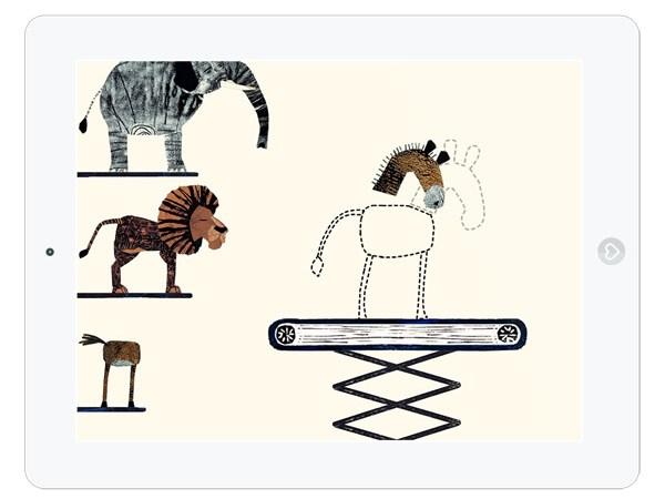 Lustige Kinder App: Phantasie Tiere basteln