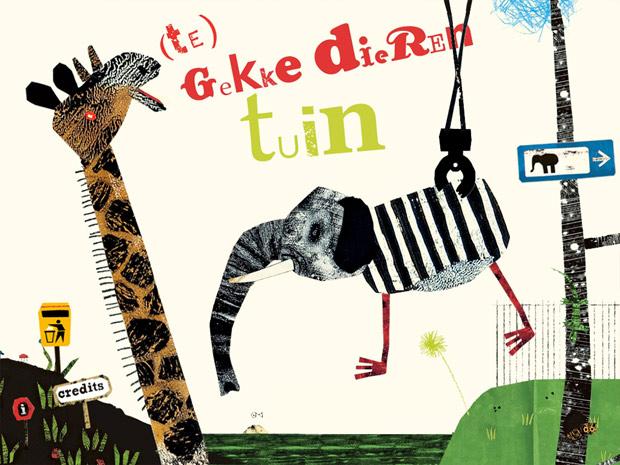 lustige Kinder Spiel App mit Fantasie Tieren