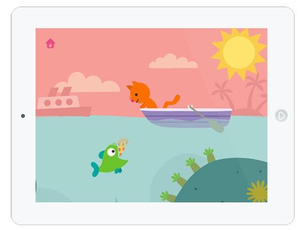 Kinder App über den Ozean