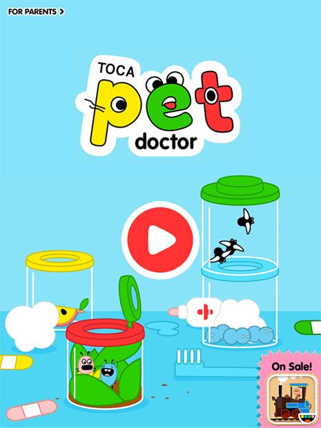 süße Tierarzt Kinderapp zum Spielen