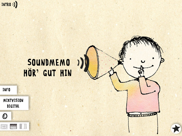 lustige Memory Kinder App für's Gehör