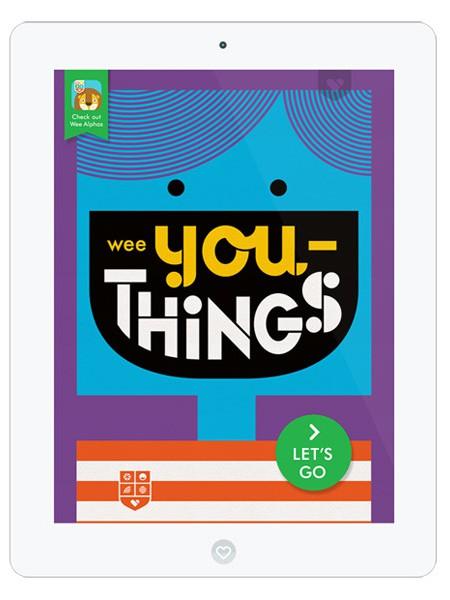 Tolle Kinder App über individuelle Merkmale