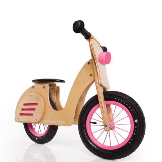 Kinder Laufrad Motorrad aus Holz