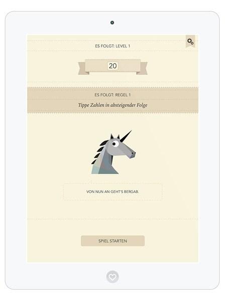 Spiele App zum Gedächtnistraining