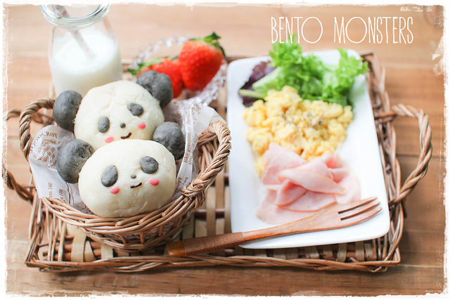 Bento Monsters Panda Box